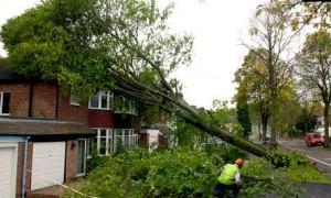 Storm damage Birmingham