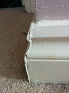 Defect barratt-lovely-edge-on-skirting-board