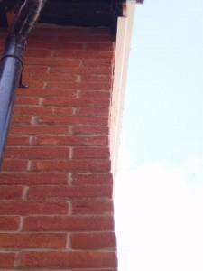 Brickwork wall at Persimmon