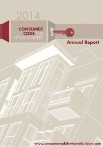 Consumer Code Annual Report 2014