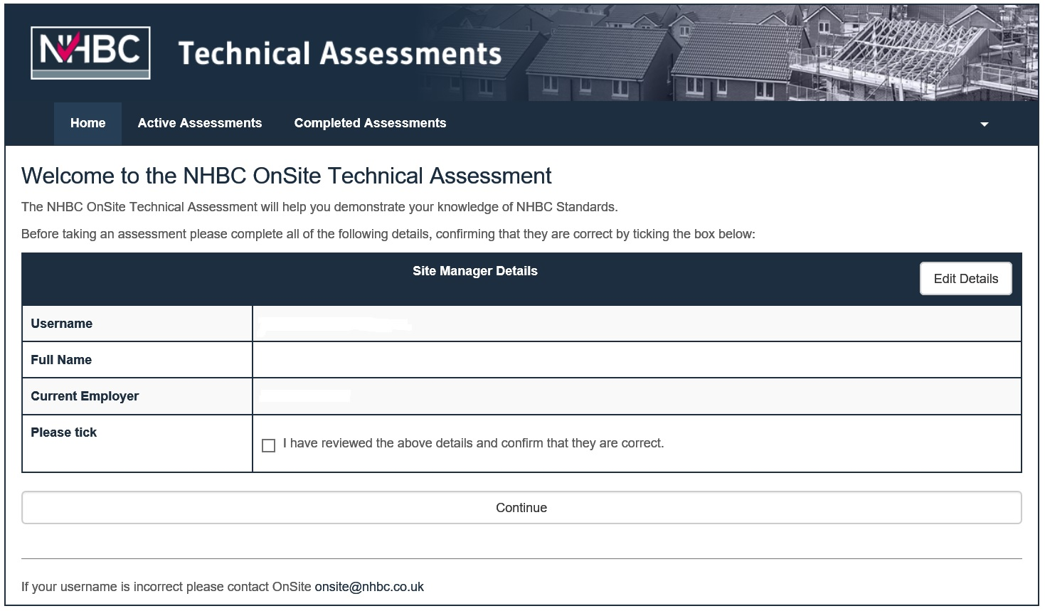 NHBC Technical Assessment