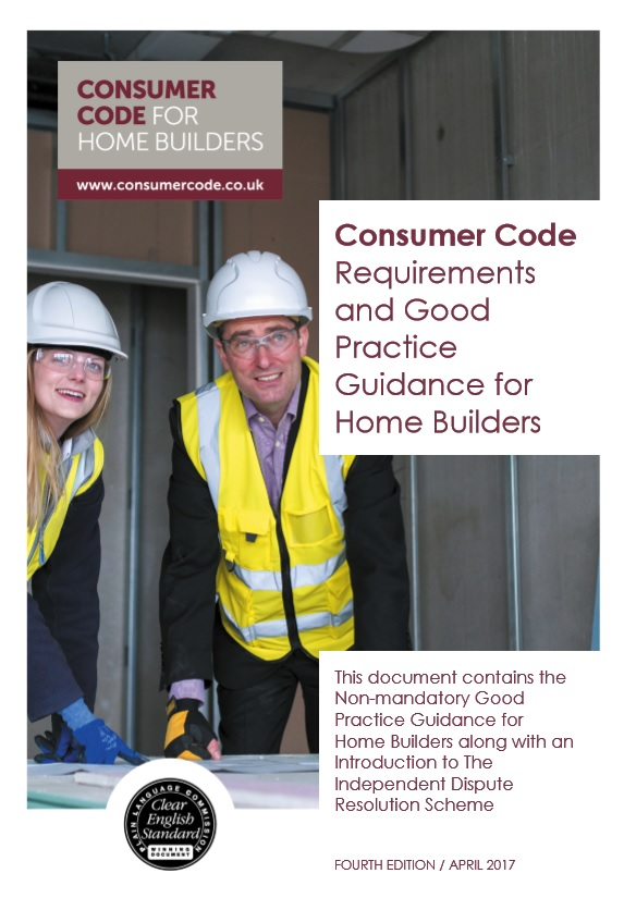 """limited in its scope"" - The Consumer Code for Home Builders"