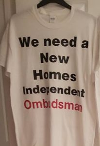 Jo Leoanard's New Homes Ombudsman T Shirt