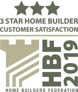 Persimmon Homes 3 star rated 5 years running!